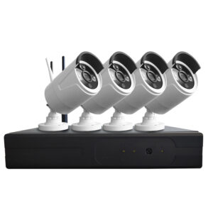 4Ch Indoor Wireless IP Camera System – 1080P