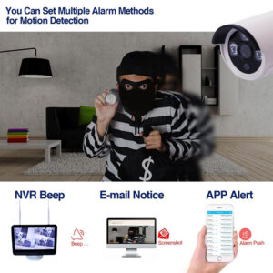 4Ch Wireless NVR Kit with LCD Screen