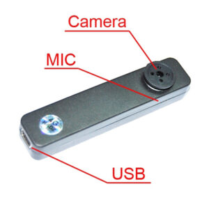 HD Button Hidden Cam